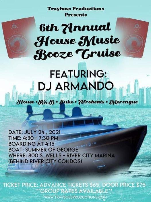 6th Annual House Music Booze Cruise