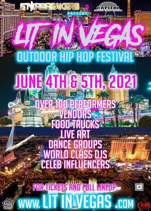 Lit In Vegas 2021 Paradise Rd Las