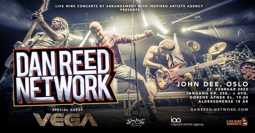 Dan Reed Network + Vega \/ John Dee, Oslo \/ Pres. av Live Wire