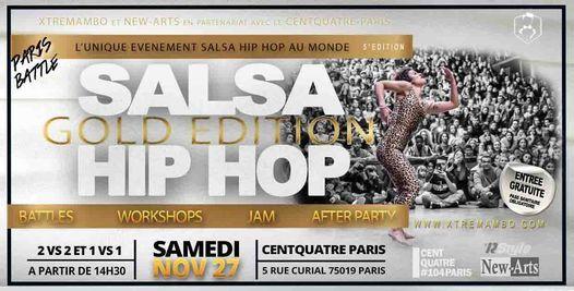 "PARIS SALSA HIP HOP BATTLE V ""Gold Edition"""