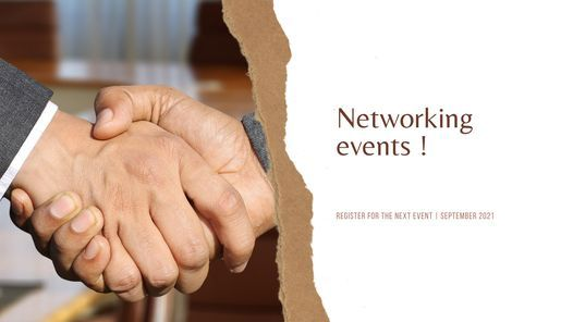 Networking event - Meet people & Extend your networks