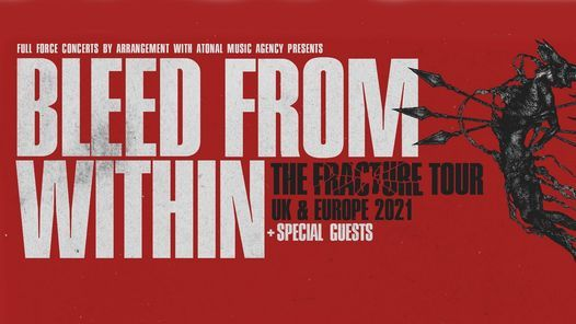Bleed From Within Live in Birmingham