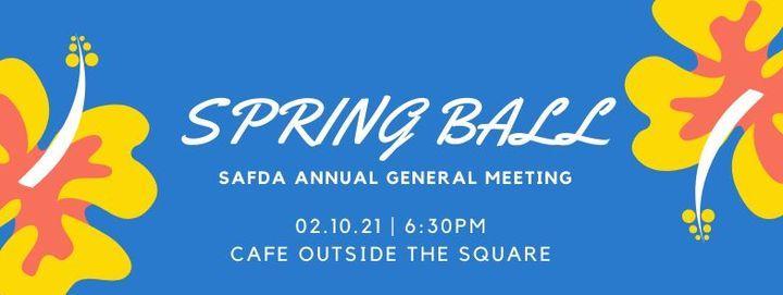 Spring Ball & SAFDA AGM