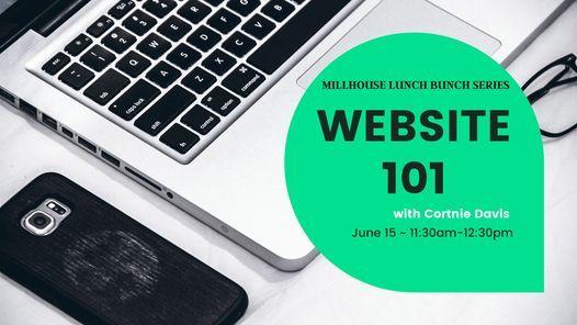 Lunch Bunch - Website 101 with Cortnie Davis