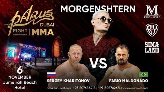 MMA: PaRus Fight Championship 2021 feat Morgenshtern