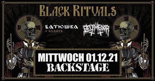 BATUSHKA & BELPHEGOR | Backstage M\u00fcnchen