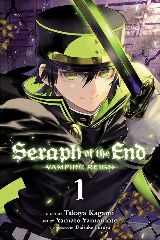 "ALCC November meet up: Seraph of the End Vol. 1 Vampire Reign"" by Takaya Kagami"