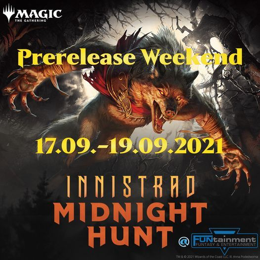 Magic: Midnight Hunt \u2013 Samstag Vormittag Prerelease