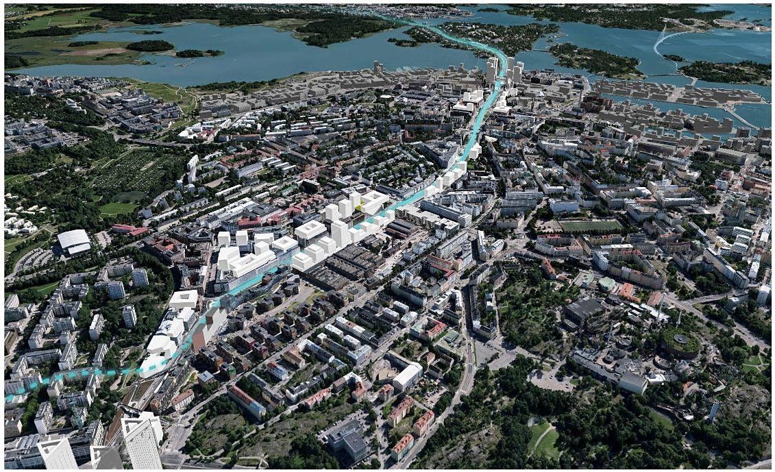 'Walkshop' at Vallila, Helsinki