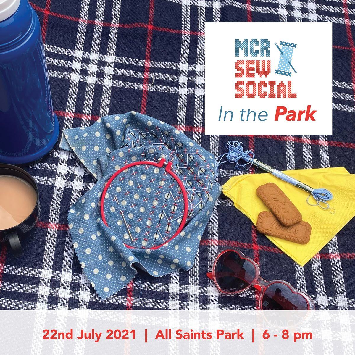 MCR Sew Social - Sew Social in the Park