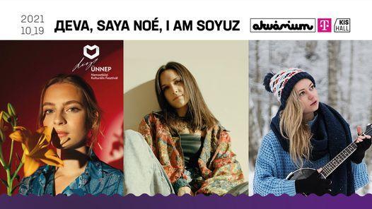 \u0414eva \/ Saya No\u00e9 \/ I Am Soyuz