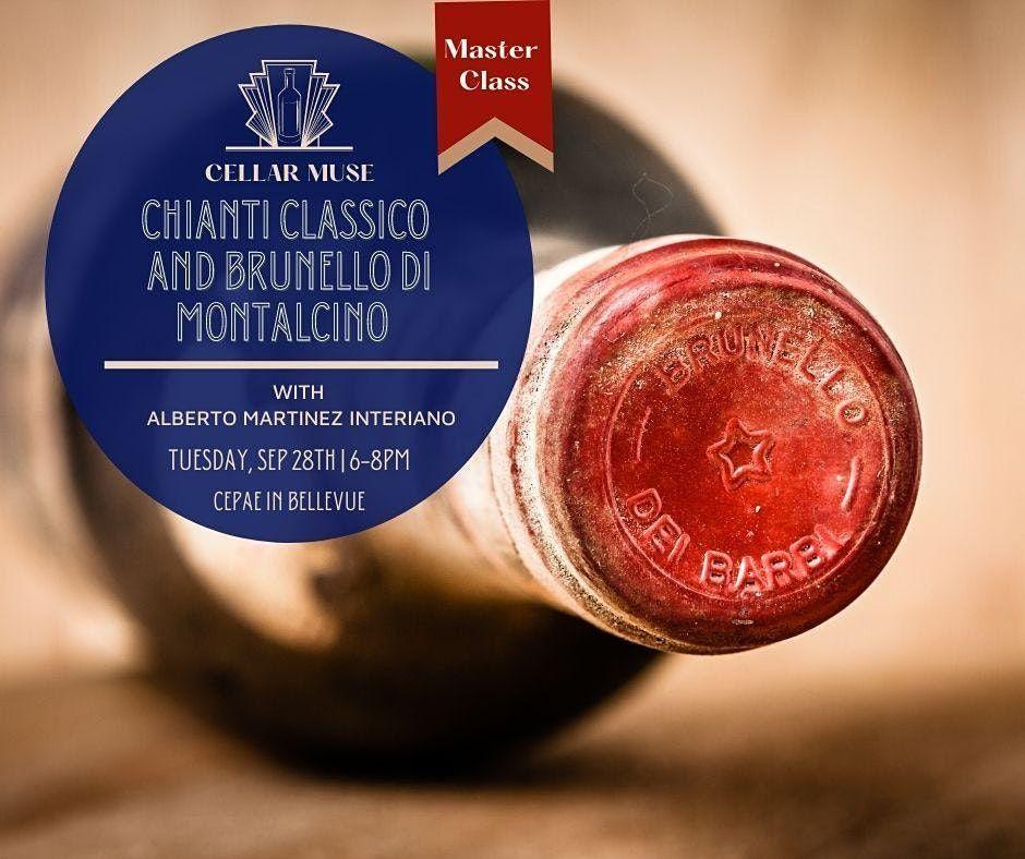 Chianti Classico & Brunello Master Class
