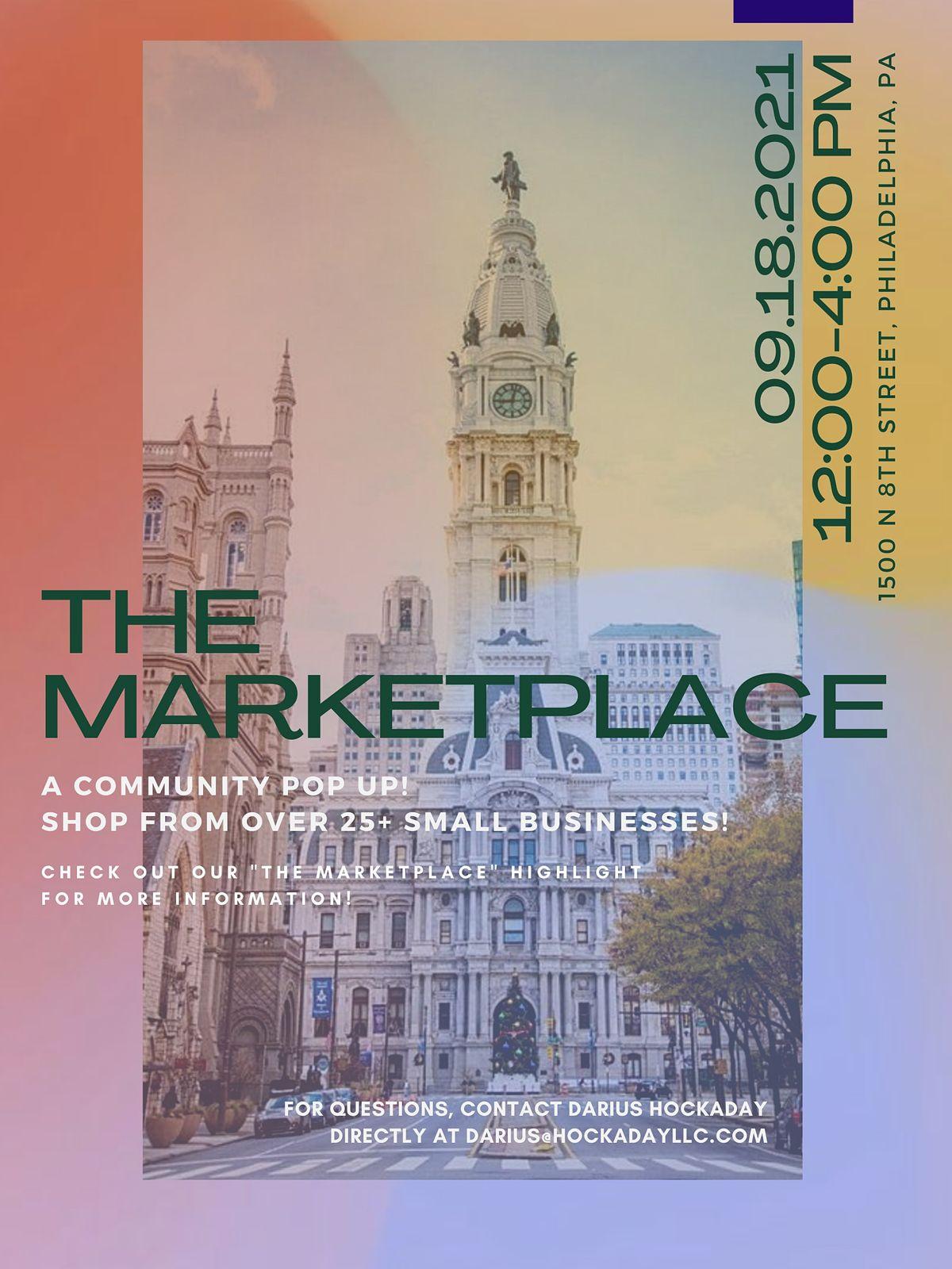 The Marketplace: Community Pop Up