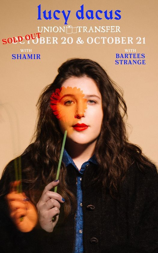 2nd Night Added - Lucy Dacus at Union Transfer - Philadelphia 10\/20&21