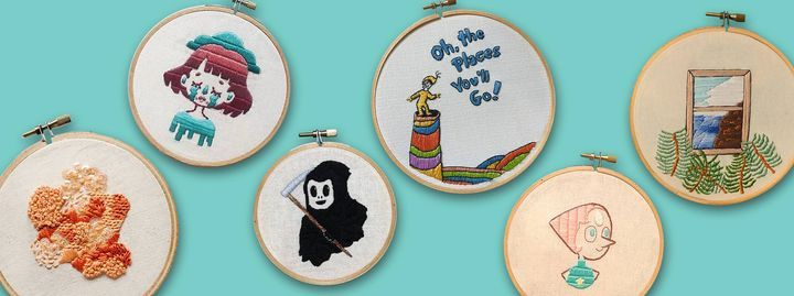 Beginners' Embroidery Workshop by We Told You Sew