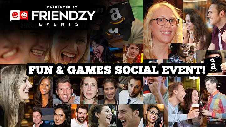 Sunday Funday  Social Games Event - The Perfect Way To Meet People In NYC
