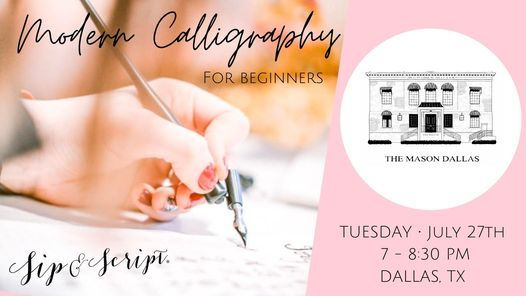 Charcuterie & Calligraphy at The Mason