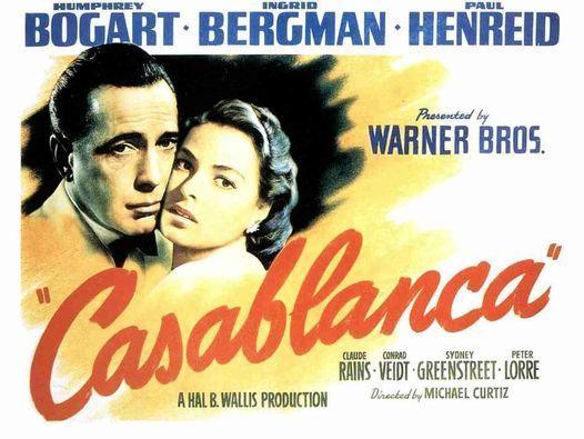 """Phim Oscar 1942: """"Casablanca"""" (Chuy\u1ec7n T\u00ecnh Th\u1ebf Chi\u1ebfn)"""
