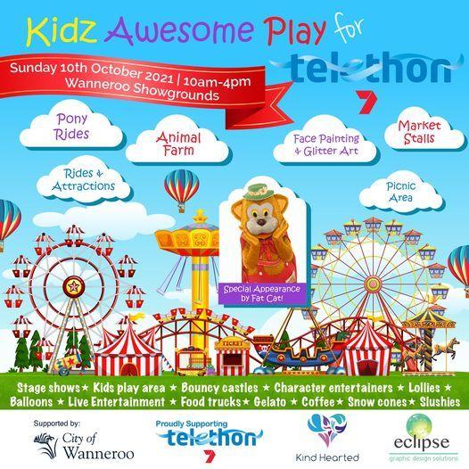 Kidz Awesome Play for Telethon 2021