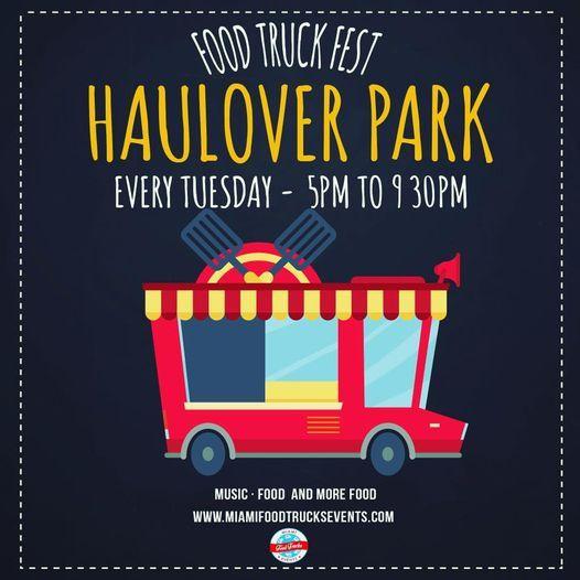 Food Trucks Tuesdays At Haulover Park