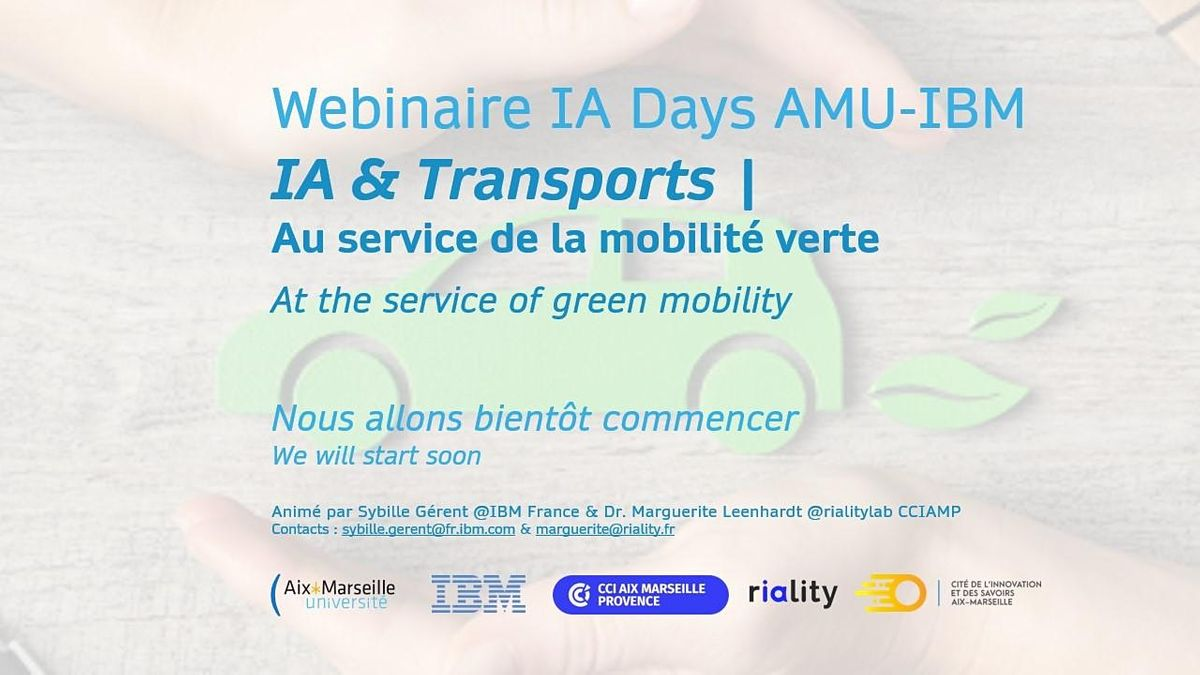Intelligence artificielle et transports