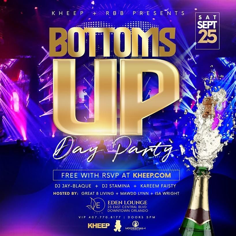 BOTTOMS UP DAY PARTY