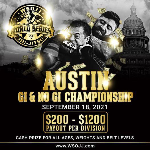 WSOJJ: Austin 2021 Gi and NoGi Championship