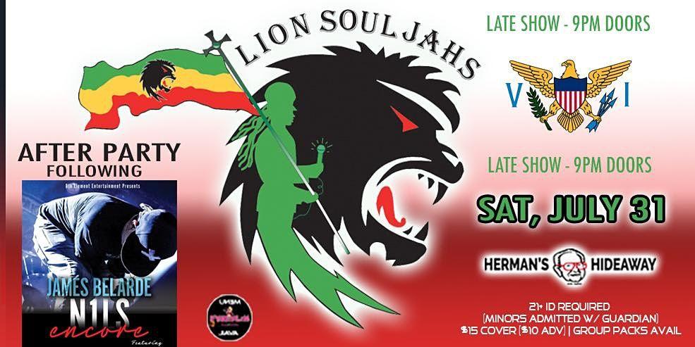 LION SOULJAHS (late show - 9pm doors)