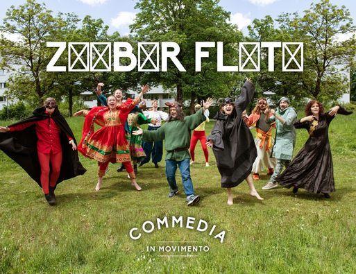 ZxxBxR FLxTx - Commedia in Movimento @LAB Uganda
