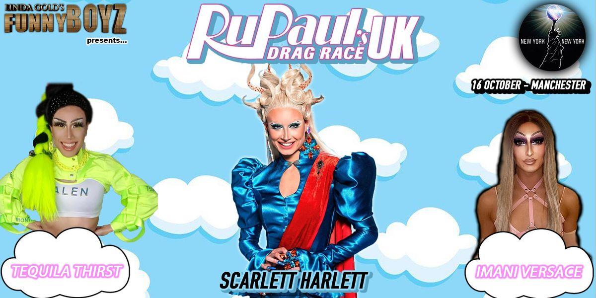 Scarlett Harlett from RuPaul's Drag Race UK