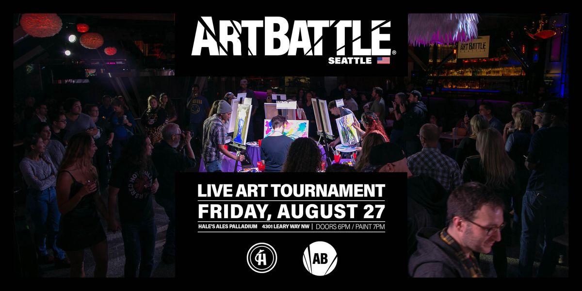 Art Battle Seattle  - August 27, 2021