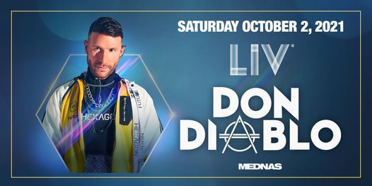 Don Diablo - Sat. October 2nd
