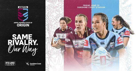 Ampol Womens State Of Origin 2021 Sunshine Coast Stadium Wurtulla 25 June 2021