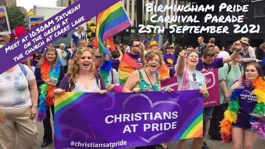Christians at Pride - Birmingham Carnival Parade 2021