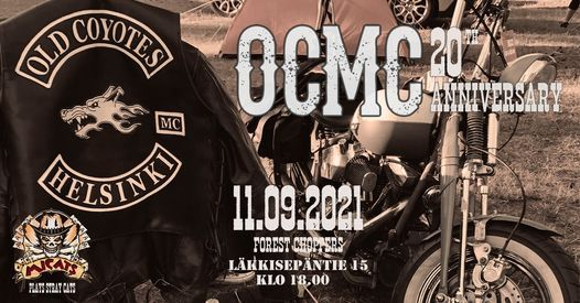 Old Coyotes MC 20 Year Anniversary Party