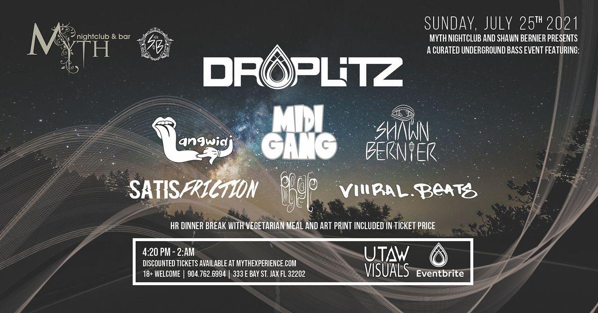Droplitz, Midi Gang and Langwidj at Myth Nightclub | 07.25.21