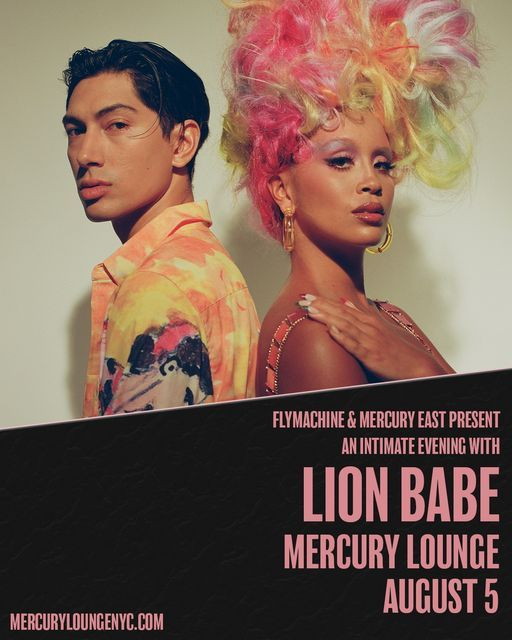 SOLD OUT: Flymachine & Mercury East present: Lion Babe at Mercury Lounge