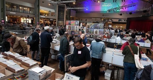 Northwest Record Show at Seattle Center Armory Food Court