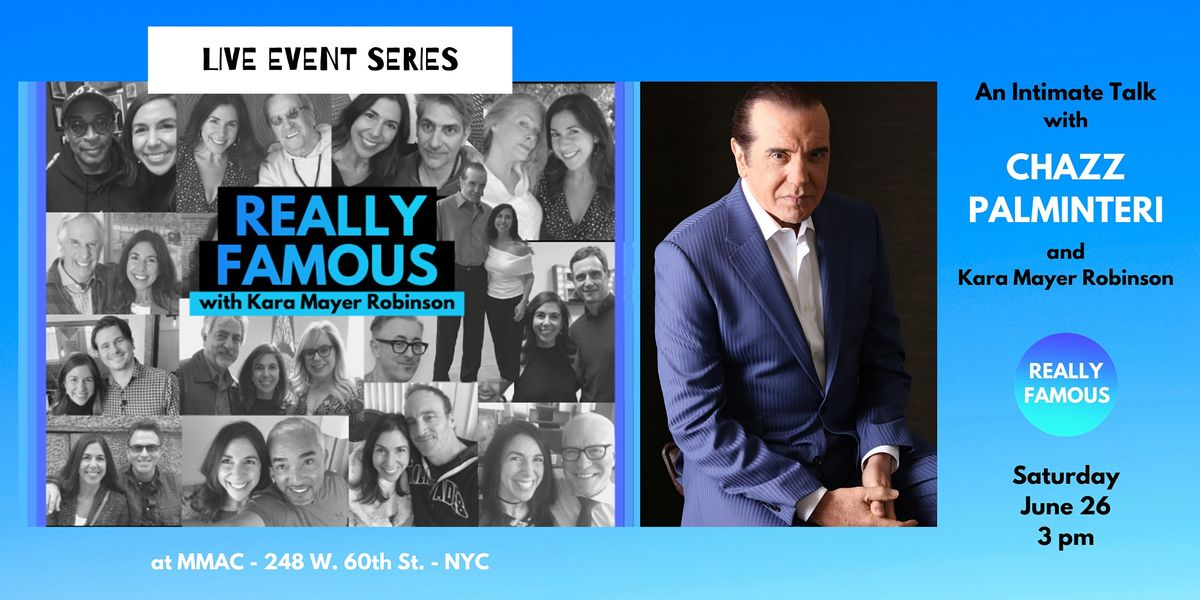 An Intimate Talk with Chazz Palminteri