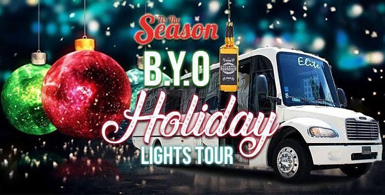 Chicago's BYOB Party Bus Holiday Lights Tour 'Tis The Season