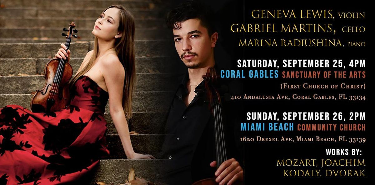 Copy of Mainly Mozart Festival 2021, CONCERT 6: MIAMI BEACH
