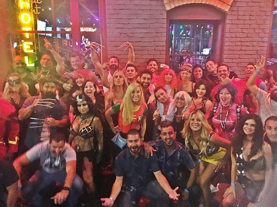 Saturday Halloween Bar Crawl
