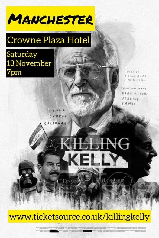 Killing Kelly On Tour: Manchester