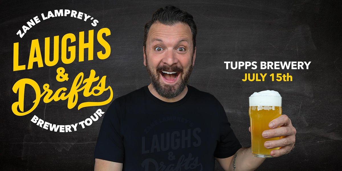TUPPS BREWING \u2022  Zane Lamprey's  Laughs & Drafts  \u2022 McKinney, TX