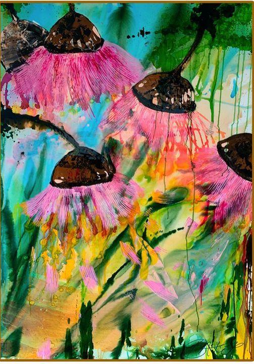 Big Picassos: Art and Entertainment \u201cAbstract Gum Nuts\u201d