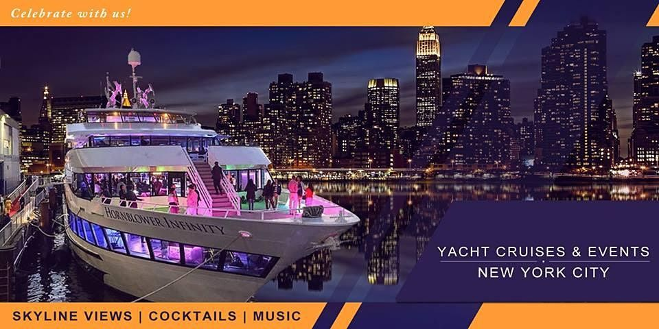 YACHT PARTY CRUISE  NEW YORK CITY  STATUE OF LIBERTY MUSIC  COCKTAILS