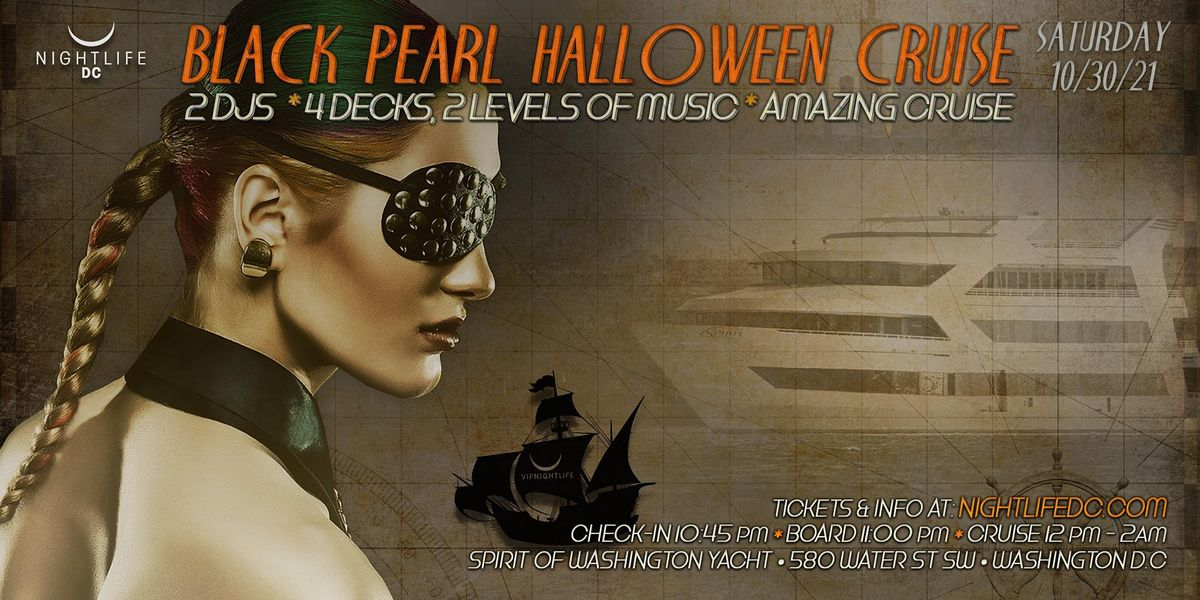 D.C. Halloween - The Black Pearl Yacht Party