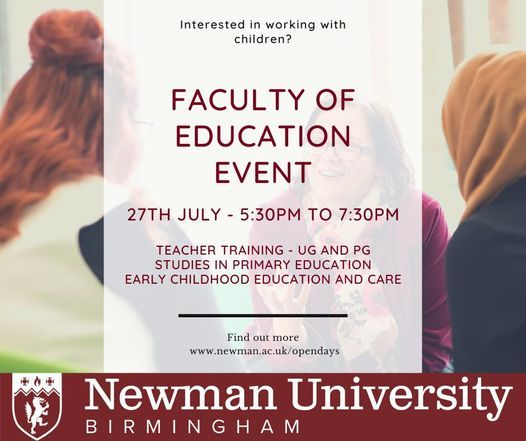Faculty of Education On-Campus Open Event