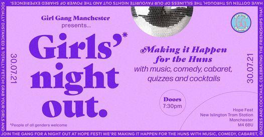 Girls' Night Out! Girl Gang @ Hope Fest