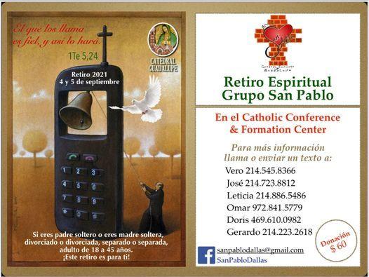 Retiro Espiritual Grupo San Pablo